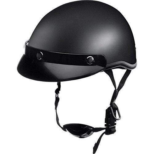 Delroy Jethelm Motorradhelm Helm Motorrad Mopedhelm für Damen und Herren, Braincap, Helmschale aus Polycarbonat…