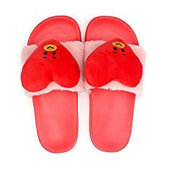 Kpop Bts Bt21 Slippers Cute Cartoon Character Indoor House Slippers Summer Slip Wearable Plush Slippers Shoes 36 Uk 6 Tata