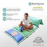 Butterfly Craze Kid's Floor Pillow Bed Cover