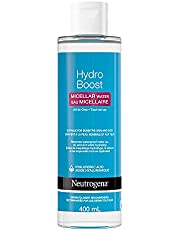 Neutrogena HydroBoost Micellar Water - Hyaluronic Acid - Make-up Remover for Sensitive Skin - Face and Eyes Cleanser - 400mL