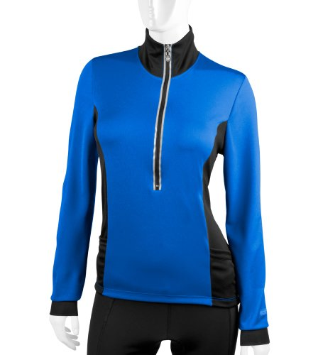 Aero Tech Designs Women's Chilly Girl Long Sleeve Jersey - Made in the USA (X-Large, - Hip Pocket Aero