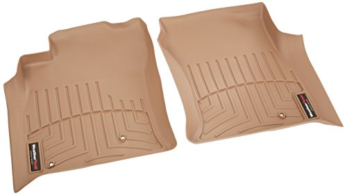 WeatherTech Custom Fit Front FloorLiner for Lexus GX470, Tan
