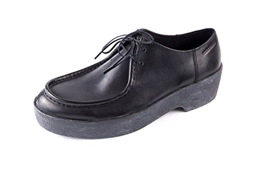 001 001 4240 253 de Lisa para Negro de Vagabond VB 4240 Piel Zapatos Mujer Cordones Negro pTBxtEZ