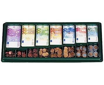 Vinco vinco2463 bandeja clasificadora con 130 y billetes 160 Monedas