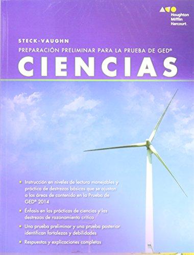 Steck-Vaughn Pre GED, Spanish: Workbook Science (Spanish Edition)