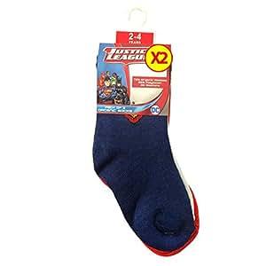 Justice League Superman Kids Solid Socks(Pack of 2)2-4Y
