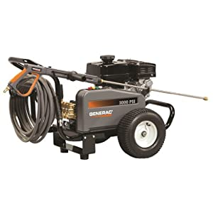 Generac 6228 3,000-PSI 3-GPM Gas-Powered Contractor Power Washer
