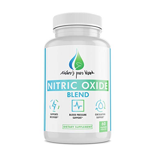 Nitric Oxide Supplements: Nature's Pure Blend – L-Arginine and L-Citrulline – 1500MG – Nitric Oxide Booster – Blood flow, Muscle growth, Energy – Essential Amino Acids for physical training support