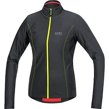 b68b8b33 GORE BIKE WEAR Women's Long Sleeve Cycling Jersey Element Thermo, black/neon  yellow, Size: 36, SELETL990807 by Gore Bike Wear: Amazon.co.uk: Sports & ...