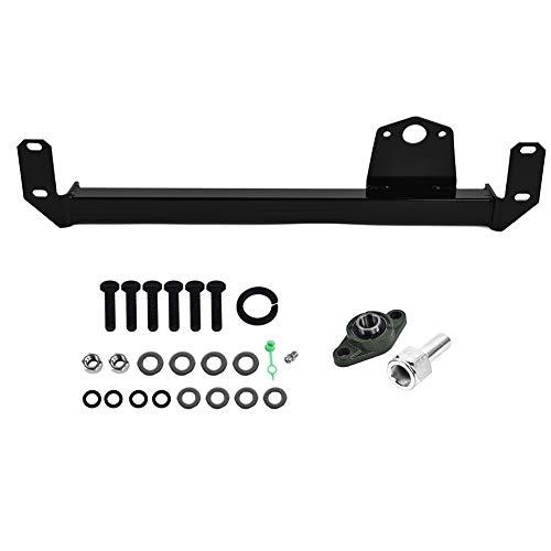 Steering Stabilizer Bar Kit, Steering Gear Box Bar for DODGE RAM 2500 3500  4X4 4WD 2009-2013