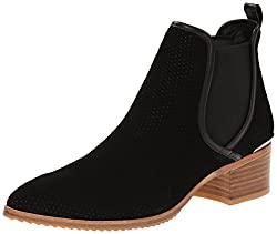 Donald J Pliner Women's Diaz Chelsea Boot, Gray Oily Suede, 11 M US