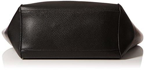 Bolso Scs18 Pimkie Material de mujer Noir de tela para Sintético Negro Revershopper Noir Eqwxdgw4