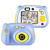 ONETEKS WiFi Kids Camera, Wireless Mini Digital Video Camera 12MP HD Recorder Dual