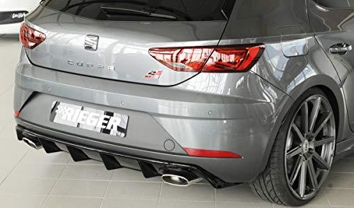 Rieger Trasero Uso Negro Brillante para Seat Leon Cupra (5 F): 01.17 (a Partir de Facelift): Amazon.es: Coche y moto