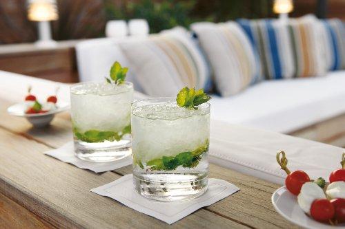 Cotton Cocktail Napkin - 4.5 x 4.5 in - 50 units per roll - Ecru by MYdrap (Image #3)