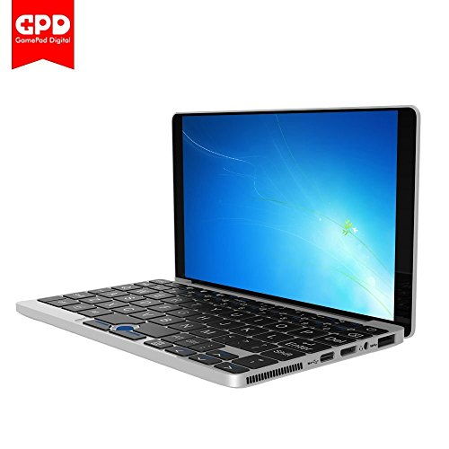 Mini Laptop,Goodlife623 GPD Pocket 7 Touch Screen Aluminum Shell UMPC Windows 10 System CPU X7-Z8750 8GB/128GB 7000mAh Battery (Silver)