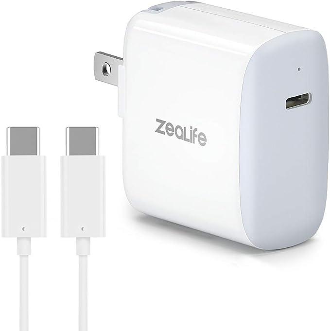 Amazon.com: USB C cargador rápido, 18 W USB C adaptador de ...