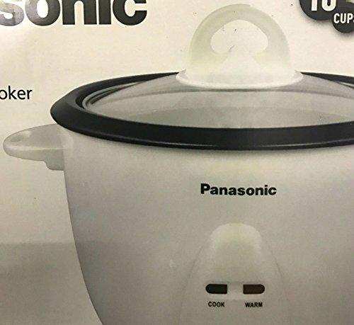 Panasonic SR-10FGS 220V  5-Cup Automatic Rice Cooker, White