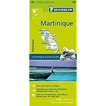 MH138 Martinique Michelin Zoom Map 1:80K