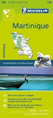 Michelin Zoom Martinique Map 138 (Michelin Zoom Map) [Michelin] (Tapa Blanda)