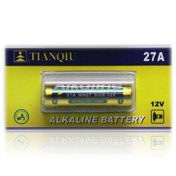 5pcs 27A Alkaline 12V Batteries also known as A27 G27A B-1 L828 CA22 GP27A