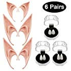 GeeVen 3 Pairs Vampire Teeth Fangs Dentures Cosplay Props 3 Pairs Fairy Pixie