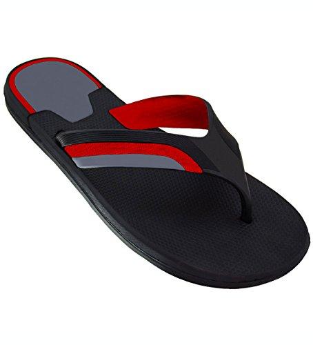 d404ed4df539f3 Galleon - Men s   Women s Slides Comfortable Beach Sandals Slipper Non Slip  Yoga Mat Flip-Flops Shower Beach Shoe (12 US Men