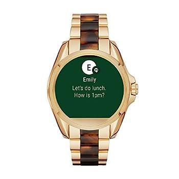 Michael Kors Access Touchscreen Gold Acetate Bradshaw Smartwatch Mkt5003 2