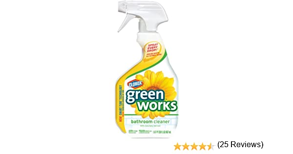 Amazon.com: Clorox Green Works Natural Bathroom Cleaner    30 Fl Oz: Health  U0026 Personal Care