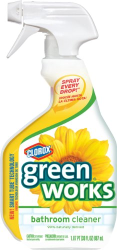 Clorox Green Works Natural Bathroom Cleaner -- 30 fl oz