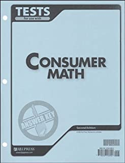 Consumer mathematics workbook answer key ags publishing ags consumer math tests answer key 2nd edition fandeluxe Images