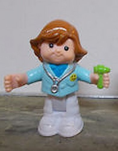Fisher Price Little People Bendables Doctor Daniella Figure, Add On For Learn About Town Play Set, OOP
