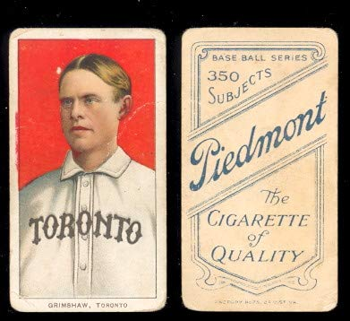 Used, 1909 t206 tobacco (baseball) card#191 moose grimshaw for sale  Delivered anywhere in USA