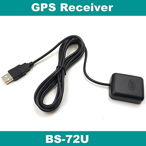 Xligo GPS Receiver, USB Driver, 4M Flash, NMEA-0183 9600 BPS, BS-72U, Laptop, Replace SIRF IV BU-353S4