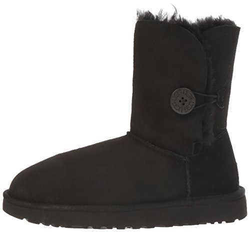 UGG Women's Bailey Button II Winter Boot, Black, 9 B US by UGG (Image #5)
