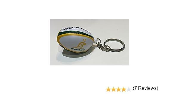 GILBERT australiano wallabies pelota rugby llavero: Amazon.es: Deportes y aire libre