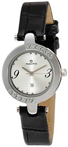 Maxima Attivo Analog Silver Dial Women's Watch – 29433LMLI