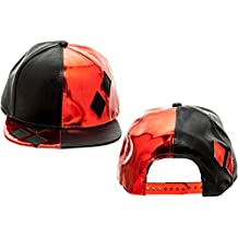 Baseball Cap - Batman - Harley Quinn PU Suit Up w/Applique Diamonds sb3bg9btm