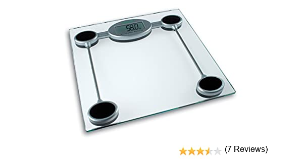 Medisana PSW - Báscula digital de baño electrónica, personal con excelente estabilidad, color gris metalizado y negro, Pila CR2032 incluida: Amazon.es: ...