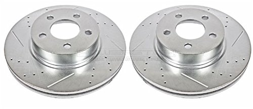 Power Stop AR8586XPR Front Evolution Drilled & Slotted Rotor (Sport Trac Power Slot Rotors)