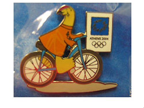 Olympic Athens 2004 Mascot Cycling -