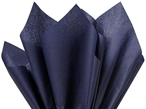 """100 Ct Bulk Tissue Paper Dark Navy Blue 15"""" X 20"""""""