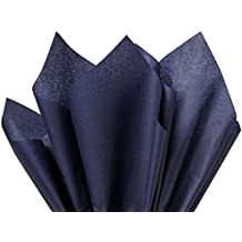 "Navy Blue Tissue Paper 15"" X 20"" - 100 Sheet Pack"
