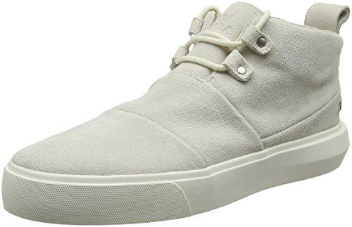 K-Swiss Charles, Sneaker Basse Uomo White (Off White-off White)