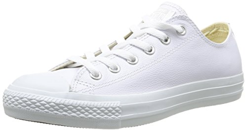 Converse Unisex Chuck Taylor All Star Ox Low Top Classic White Open Sneakers - 6.5 B(M) US Women / 4.5 D(M) US Men (Shoes Converse All White)
