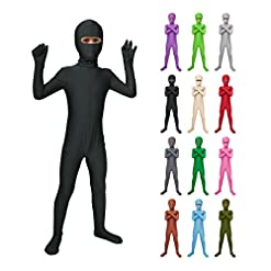 - 41aHSO6MpqL - Sheface Kids Spandex Eyes Open Bodysuit Fancy Dress Costume