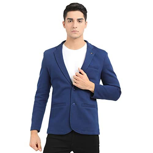 41aHSQ8j5DL. SS500  - M 27 Men's Cotton Blazer
