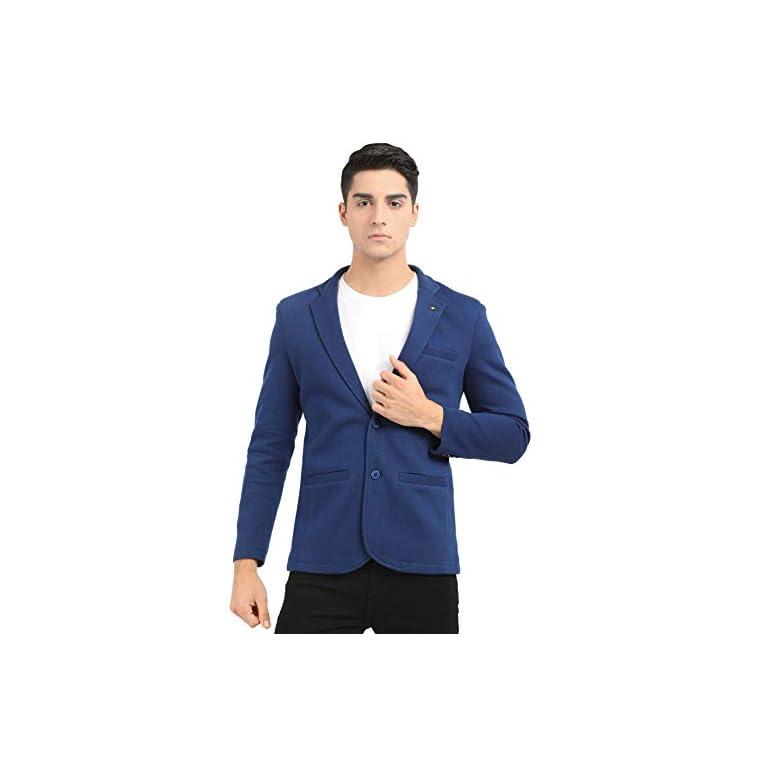 41aHSQ8j5DL. SS768  - M 27 Men's Slim Fit Casual Blazer (11 Colors)