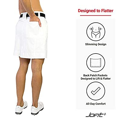 Jofit Women's Athletic Clothing Elite Slimmer Golf and Tennis Skort: Clothing