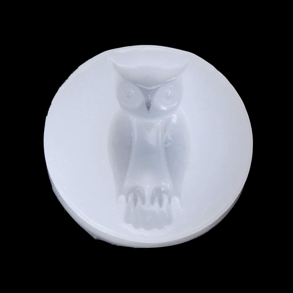 Shaoge Halloween Bat Owl Spider Skeleton Hand DIY Silicone Jewelry Cake Resin Mold Tool
